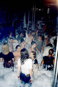The infamous Foam-Parties